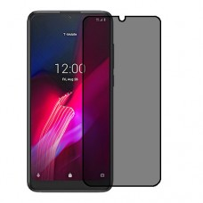 T-Mobile REVVL 4 Screen Protector Hydrogel Privacy (Silicone) One Unit Screen Mobile