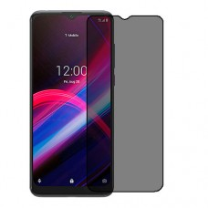 T-Mobile REVVL 4+ Screen Protector Hydrogel Privacy (Silicone) One Unit Screen Mobile