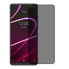 T-Mobile REVVL 5G Screen Protector Hydrogel Privacy (Silicone) One Unit Screen Mobile