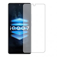 vivo iQOO 7 Screen Protector Hydrogel Transparent (Silicone) One Unit Screen Mobile