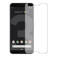 Google Pixel 3 Screen Protector Hydrogel Transparent (Silicone) One Unit Screen Mobile