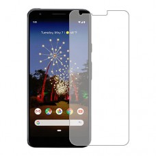 Google Pixel 3a Screen Protector Hydrogel Transparent (Silicone) One Unit Screen Mobile