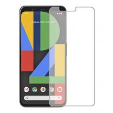 Google Pixel 4 Screen Protector Hydrogel Transparent (Silicone) One Unit Screen Mobile