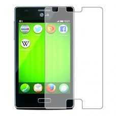LG Fireweb Screen Protector Hydrogel Transparent (Silicone) One Unit Screen Mobile