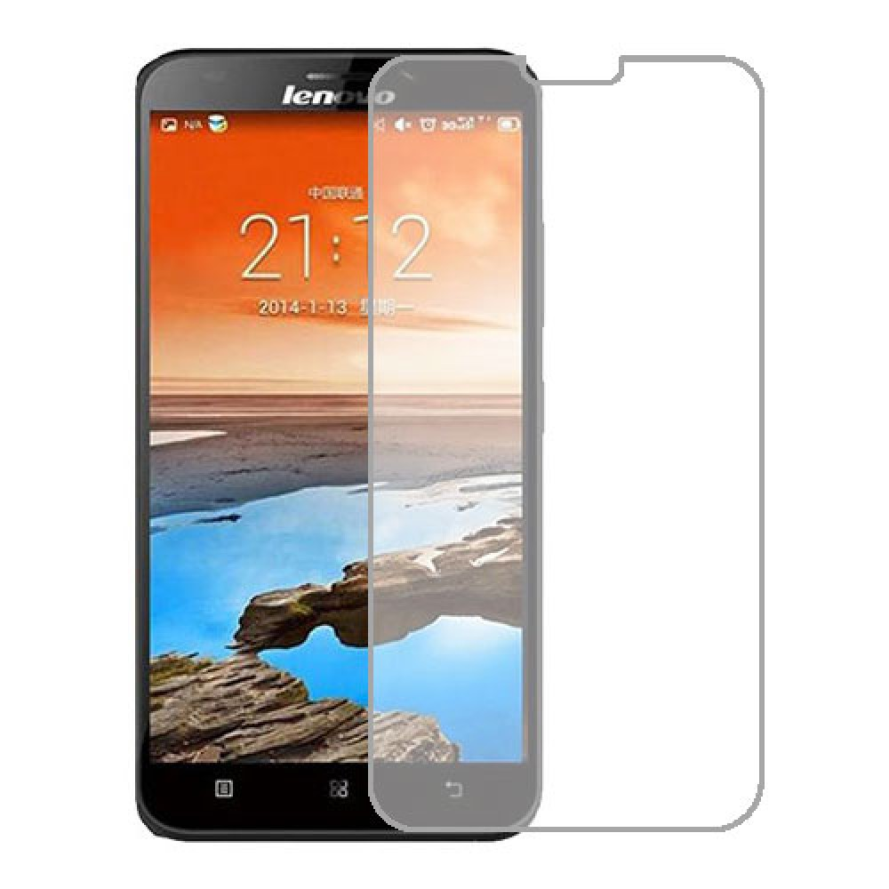 Lenovo A916 Screen Protector Hydrogel Transparent (Silicone) One Unit Screen Mobile