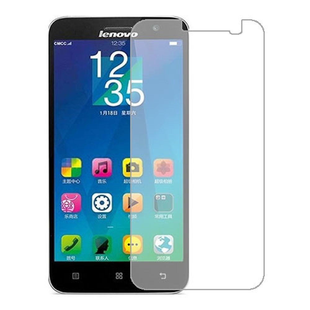 Lenovo Golden Warrior A8 Screen Protector Hydrogel Transparent (Silicone) One Unit Screen Mobile
