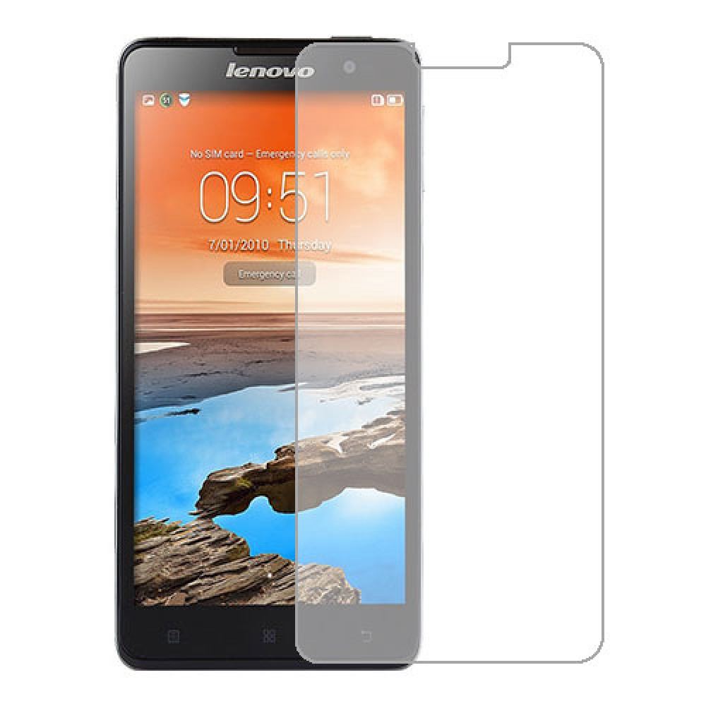 Lenovo Golden Warrior Note 8 Screen Protector Hydrogel Transparent (Silicone) One Unit Screen Mobile