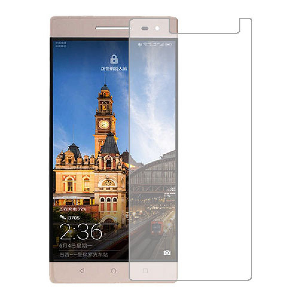 Lenovo Phab2 Pro Screen Protector Hydrogel Transparent (Silicone) One Unit Screen Mobile