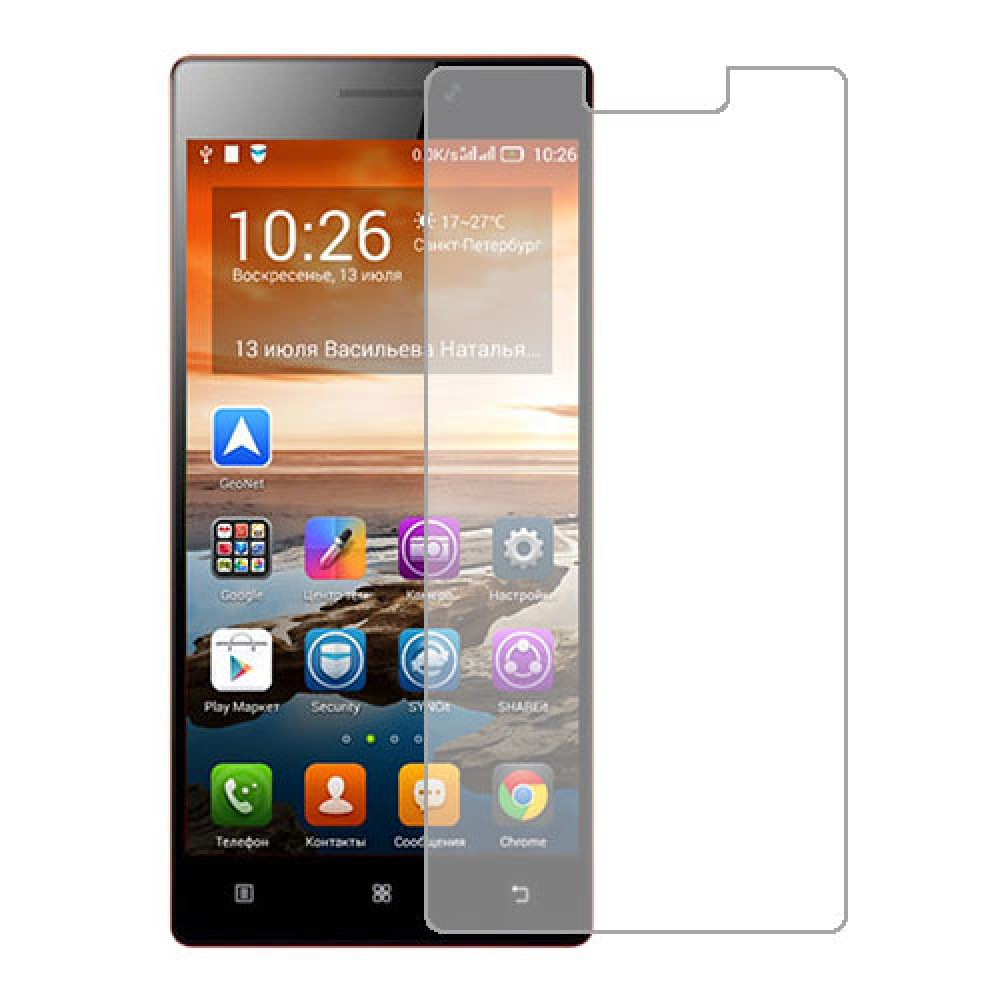 Lenovo Vibe X2 Screen Protector Hydrogel Transparent (Silicone) One Unit Screen Mobile