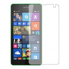 Microsoft Lumia 535 Dual SIM Screen Protector Hydrogel Transparent (Silicone) One Unit Screen Mobile
