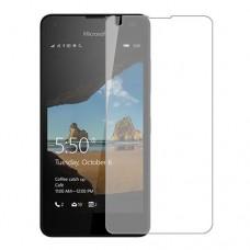 Microsoft Lumia 550 Screen Protector Hydrogel Transparent (Silicone) One Unit Screen Mobile