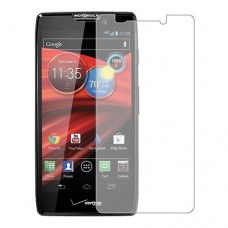 Motorola DROID RAZR HD Screen Protector Hydrogel Transparent (Silicone) One Unit Screen Mobile