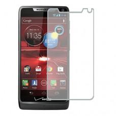 Motorola DROID RAZR M Screen Protector Hydrogel Transparent (Silicone) One Unit Screen Mobile