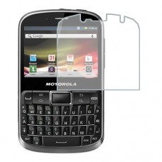 Motorola Defy Pro XT560 Screen Protector Hydrogel Transparent (Silicone) One Unit Screen Mobile