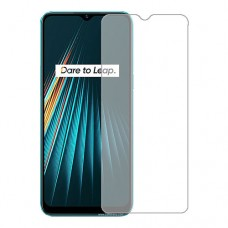 Realme 5i Screen Protector Hydrogel Transparent (Silicone) One Unit Screen Mobile