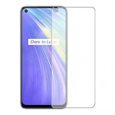 Realme 6 Screen Protector Hydrogel Transparent (Silicone) One Unit Screen Mobile