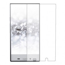 Sharp Aquos Crystal 2 Screen Protector Hydrogel Transparent (Silicone) One Unit Screen Mobile
