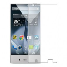Sharp Aquos Crystal Screen Protector Hydrogel Transparent (Silicone) One Unit Screen Mobile