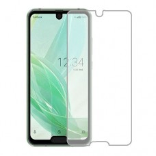 Sharp Aquos R2 compact Screen Protector Hydrogel Transparent (Silicone) One Unit Screen Mobile