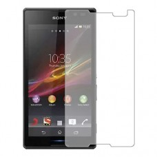 Sony Xperia C Screen Protector Hydrogel Transparent (Silicone) One Unit Screen Mobile