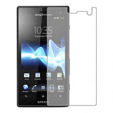 Sony Xperia acro HD SOI12 Screen Protector Hydrogel Transparent (Silicone) One Unit Screen Mobile