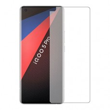 vivo iQOO 5 Pro 5G Screen Protector Hydrogel Transparent (Silicone) One Unit Screen Mobile
