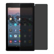 Amazon Fire HD 10 (2017) Screen Protector Hydrogel Privacy (Silicone) One Unit Screen Mobile