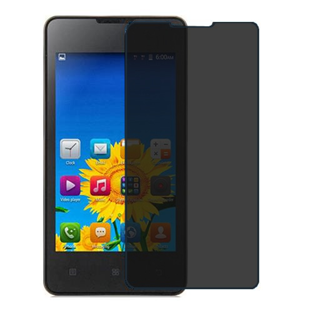 Lenovo A1900 Screen Protector Hydrogel Privacy (Silicone) One Unit Screen Mobile
