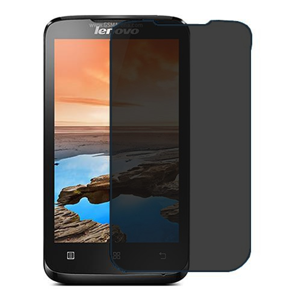 Lenovo A316i Screen Protector Hydrogel Privacy (Silicone) One Unit Screen Mobile