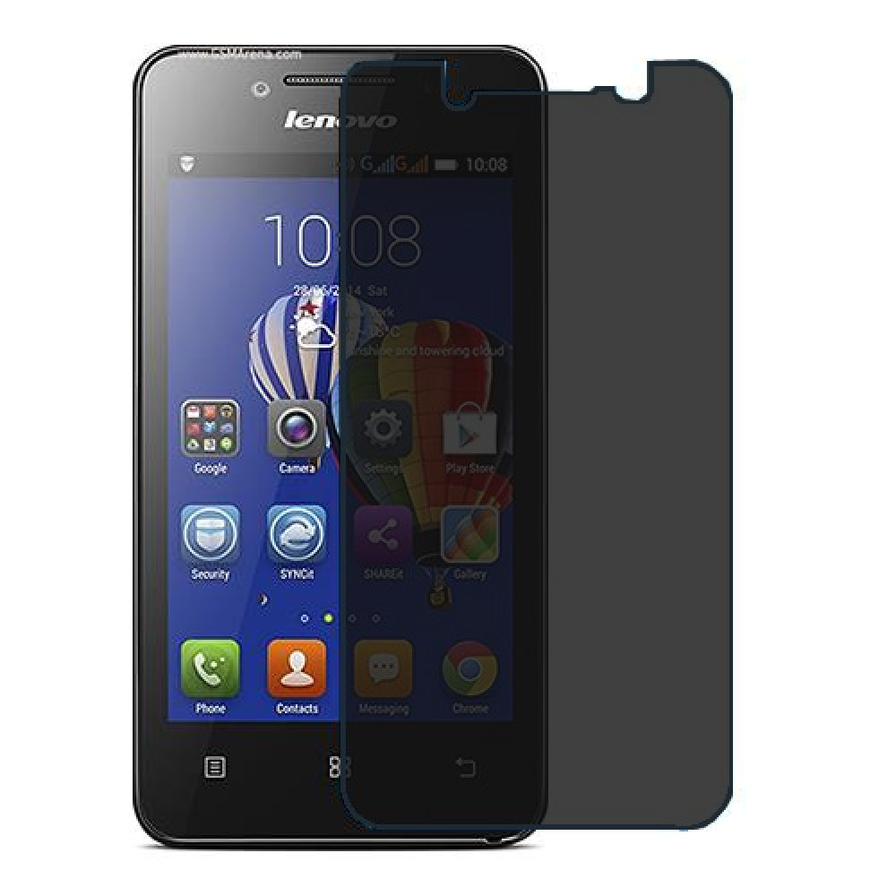 Lenovo A319 Screen Protector Hydrogel Privacy (Silicone) One Unit Screen Mobile