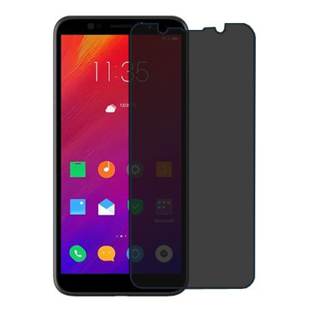 Lenovo A5 Screen Protector Hydrogel Privacy (Silicone) One Unit Screen Mobile