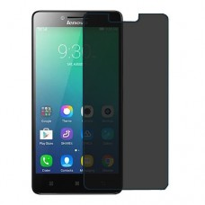 Lenovo A6000 Plus Screen Protector Hydrogel Privacy (Silicone) One Unit Screen Mobile