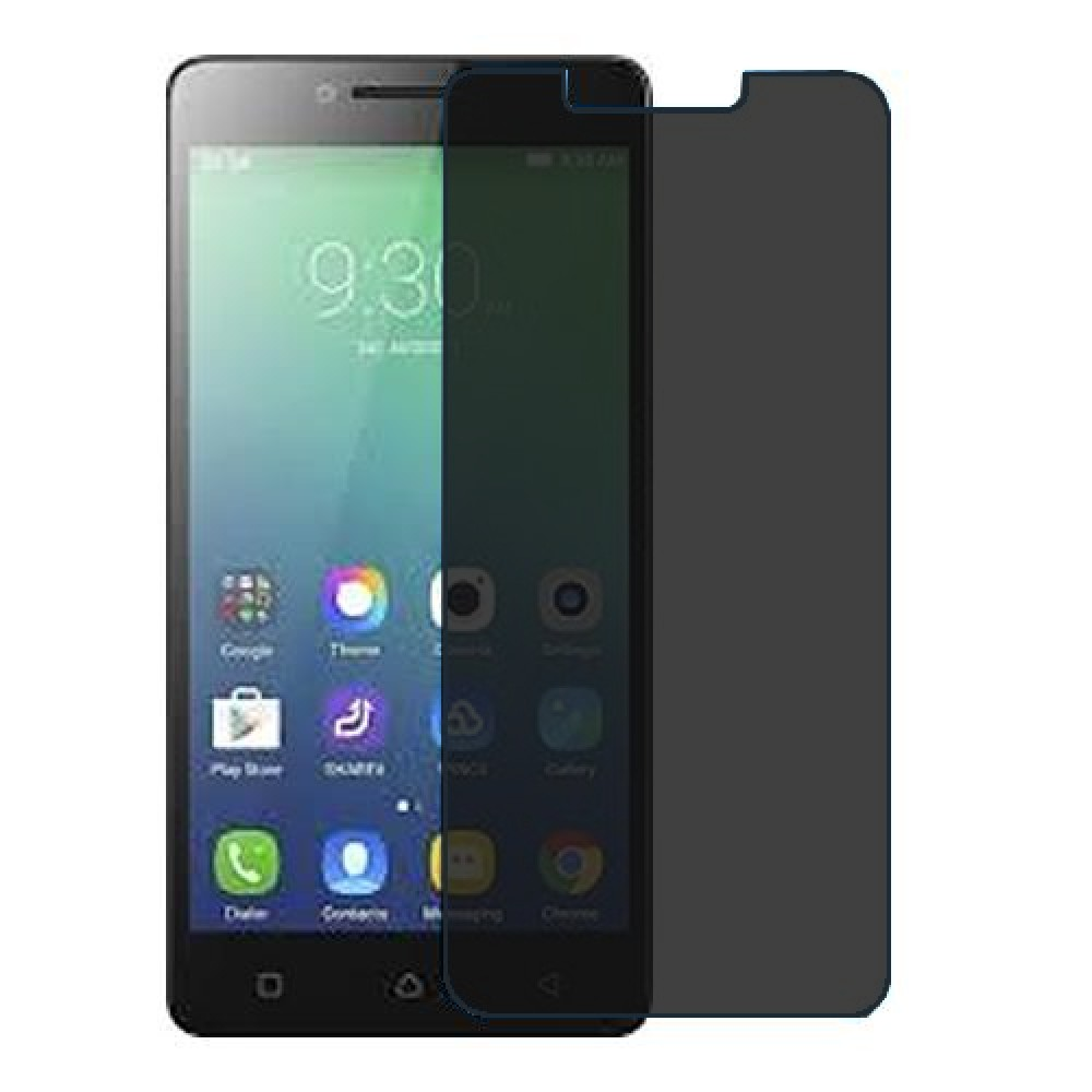 Lenovo A6010 Plus Screen Protector Hydrogel Privacy (Silicone) One Unit Screen Mobile
