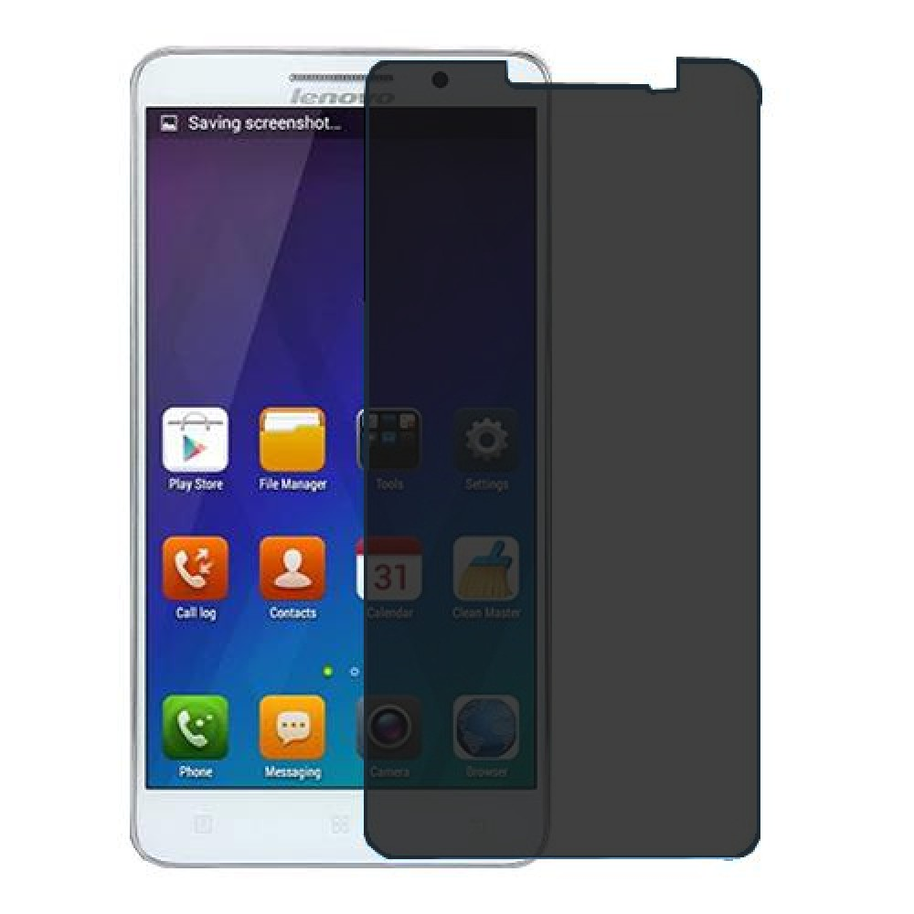 Lenovo A616 Screen Protector Hydrogel Privacy (Silicone) One Unit Screen Mobile