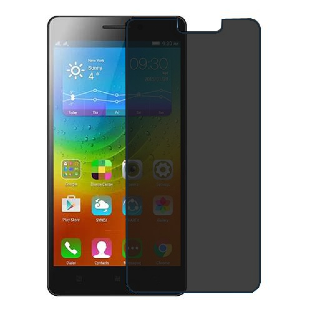 Lenovo A7000 Screen Protector Hydrogel Privacy (Silicone) One Unit Screen Mobile