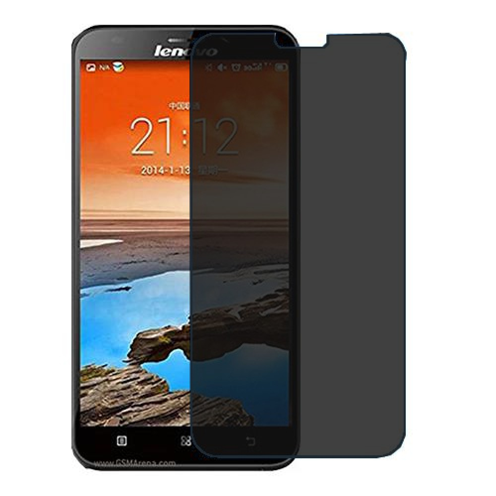 Lenovo A916 Screen Protector Hydrogel Privacy (Silicone) One Unit Screen Mobile