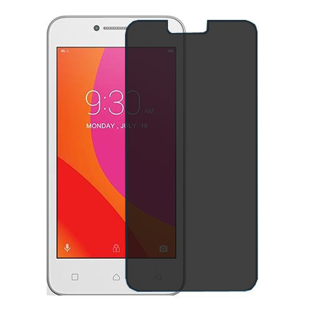 Lenovo B Screen Protector Hydrogel Privacy (Silicone) One Unit Screen Mobile