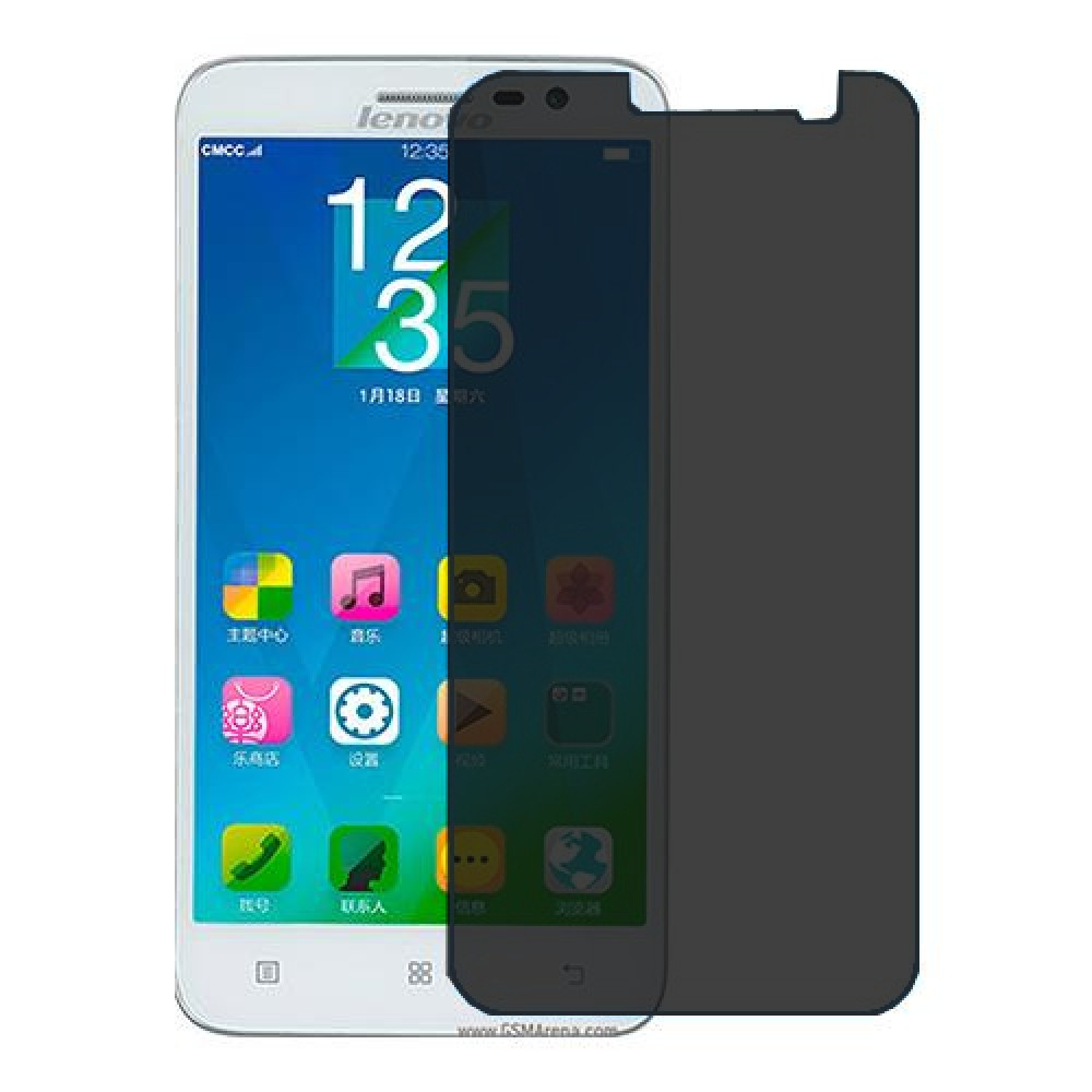Lenovo Golden Warrior A8 Screen Protector Hydrogel Privacy (Silicone) One Unit Screen Mobile