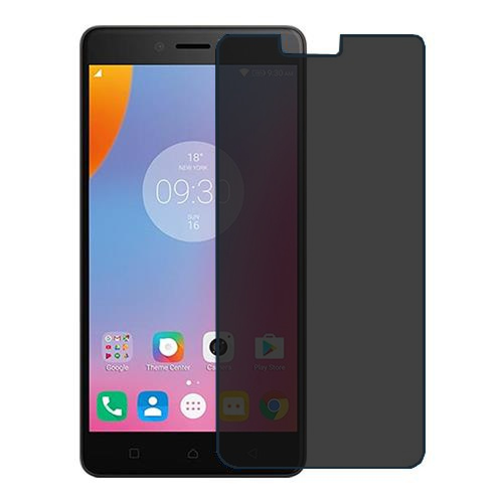 Lenovo K6 Note Screen Protector Hydrogel Privacy (Silicone) One Unit Screen Mobile