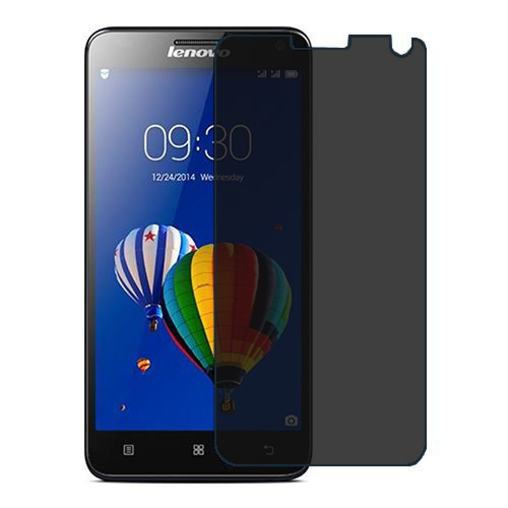 Lenovo S580 Screen Protector Hydrogel Privacy (Silicone) One Unit Screen Mobile