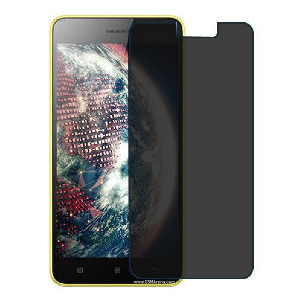 Lenovo S60 Screen Protector Hydrogel Privacy (Silicone) One Unit Screen Mobile