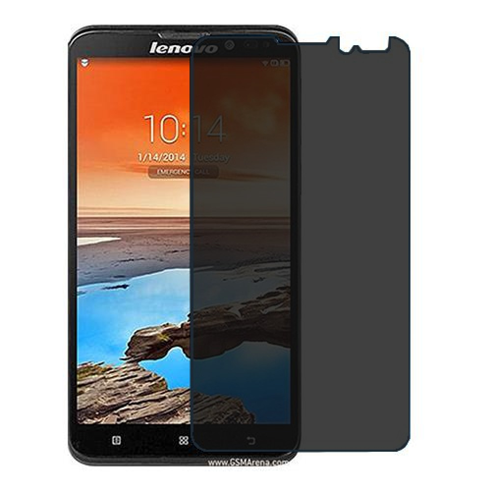 Lenovo S939 Screen Protector Hydrogel Privacy (Silicone) One Unit Screen Mobile
