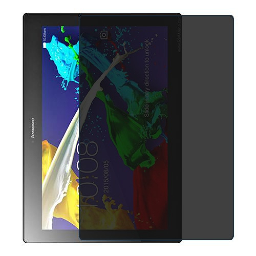 Lenovo Tab 2 A10-70 Screen Protector Hydrogel Privacy (Silicone) One Unit Screen Mobile