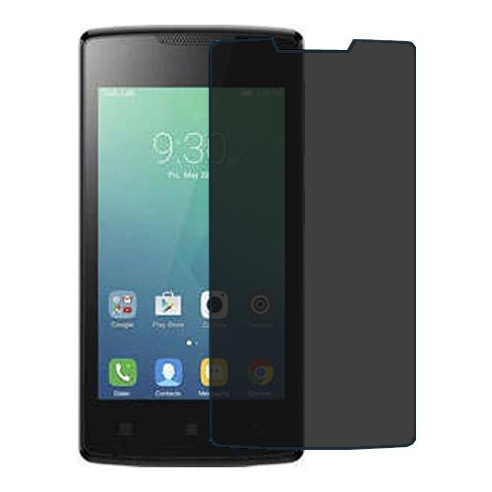 Lenovo Vibe A Screen Protector Hydrogel Privacy (Silicone) One Unit Screen Mobile