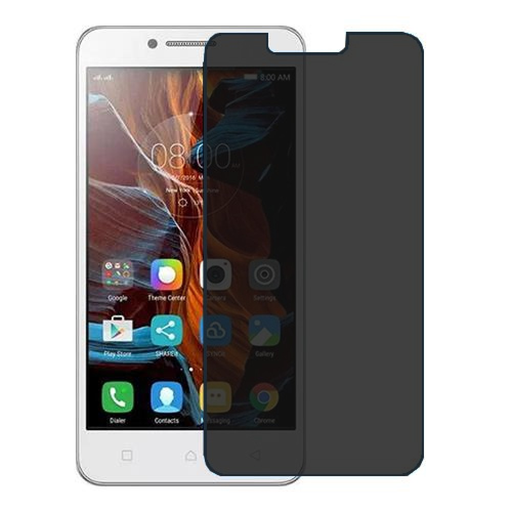 Lenovo Vibe C Screen Protector Hydrogel Privacy (Silicone) One Unit Screen Mobile