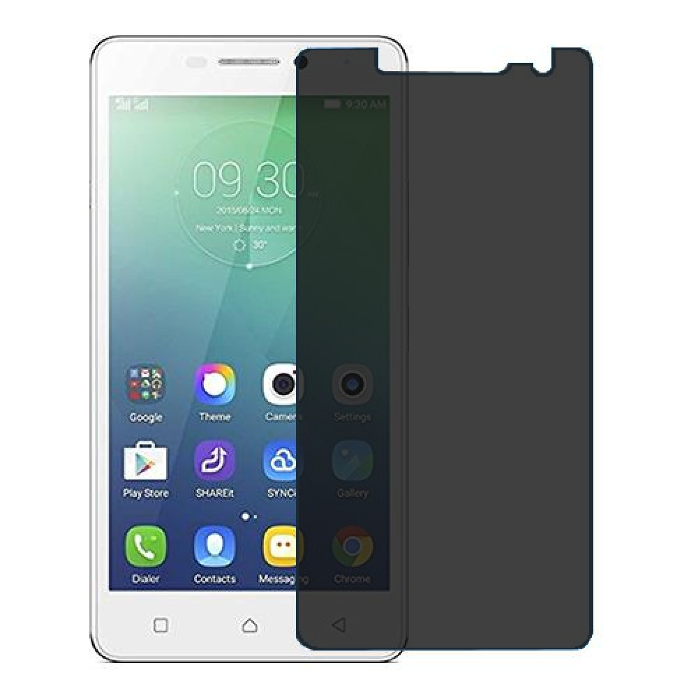 Lenovo Vibe P1m Screen Protector Hydrogel Privacy (Silicone) One Unit Screen Mobile