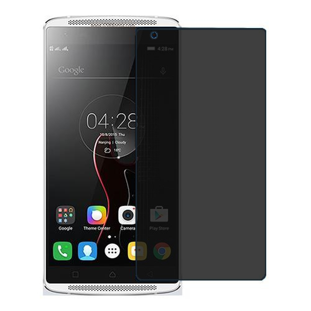 Lenovo Vibe X3 Screen Protector Hydrogel Privacy (Silicone) One Unit Screen Mobile