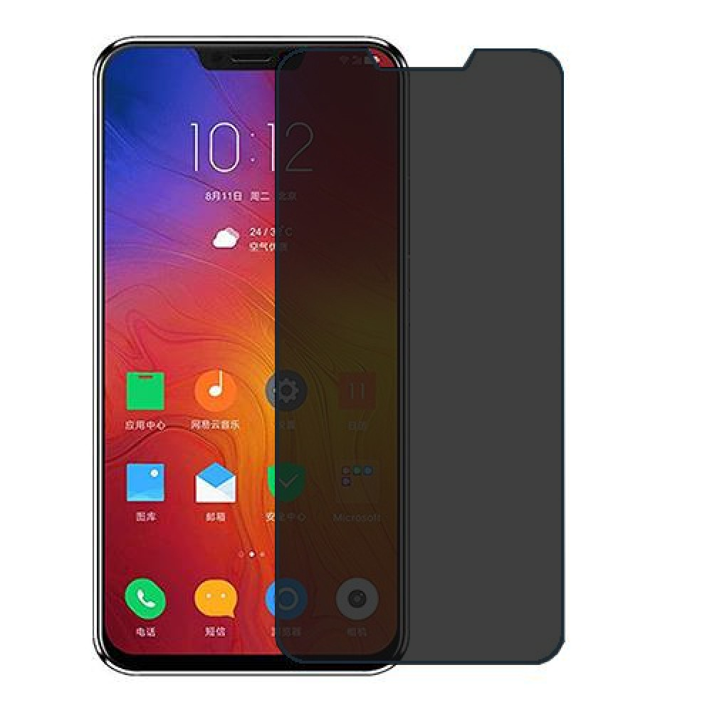 Lenovo Z5 Screen Protector Hydrogel Privacy (Silicone) One Unit Screen Mobile