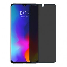 Lenovo Z6 Youth Screen Protector Hydrogel Privacy (Silicone) One Unit Screen Mobile