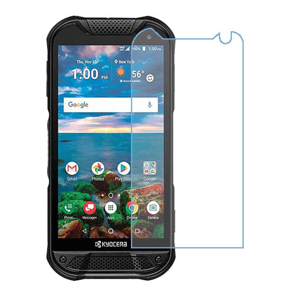 Kyocera DuraForce Pro 2 One unit nano Glass 9H screen protector Screen Mobile